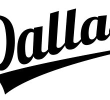Retro Dallas Logo by kwg2200