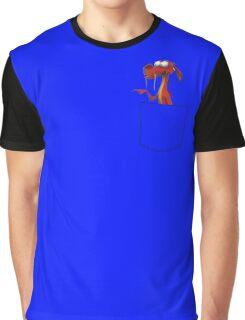 MUSHU 3D POCKET Graphic T-Shirt