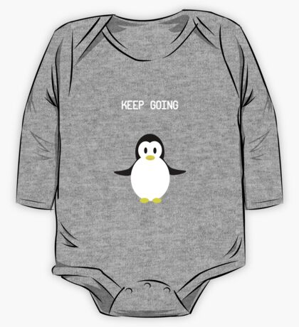 Keep Going Penguin One Piece - Long Sleeve