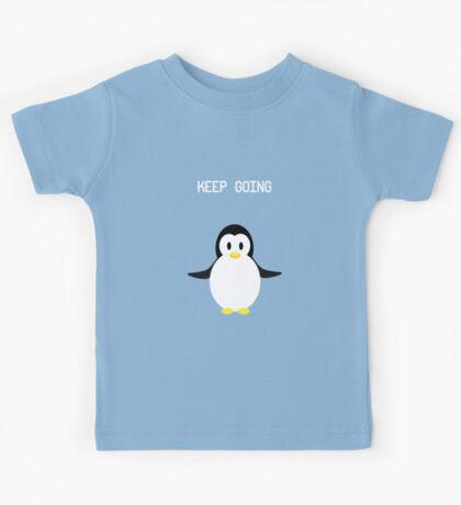 Keep Going Penguin Kids Tee