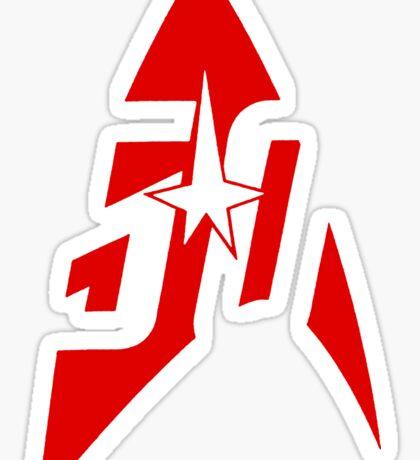 Star Trek - Engineering Red Sticker