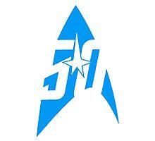 Star Trek - Science Blue Photographic Print