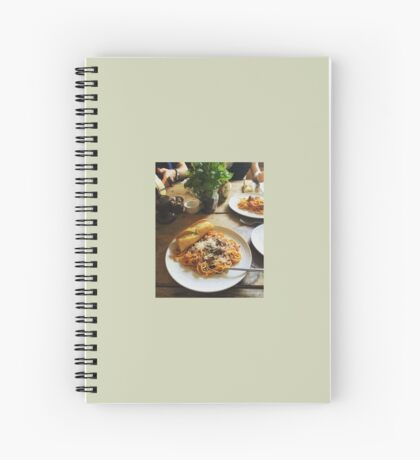 Home Cooked Meals Spiral Notebook