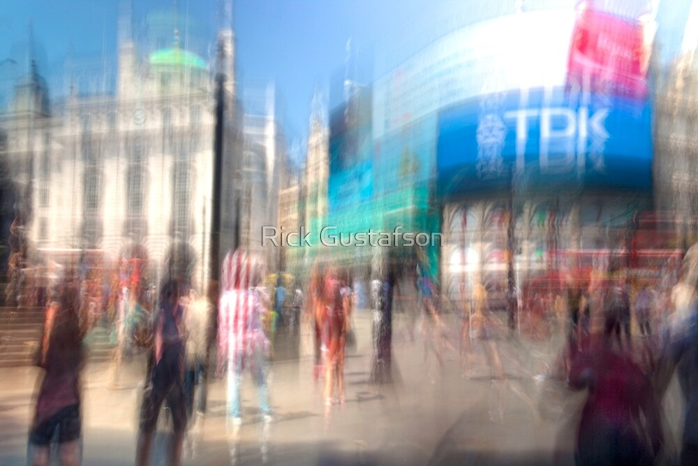 Piccadilly Circus  by Rick Gustafson