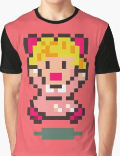 Paula - Earthbound Graphic T-Shirt
