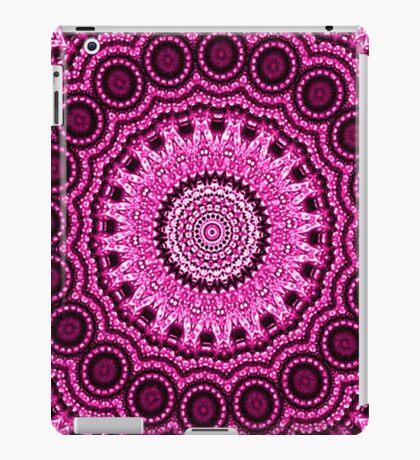 Decorative Pink & Purple Mandala Indie Art iPad Case/Skin
