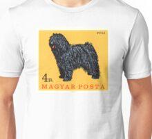 1967 Hungary Puli Dog Postage Stamp Unisex T-Shirt