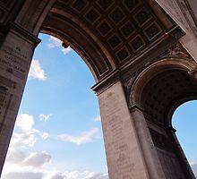 l'Arc de Triomphe by tangsprite