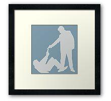 Reservoir Dogs Silhouette Framed Print