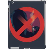 No Smoking, Man iPad Case/Skin