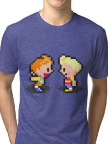 Young Lucas & Claus - Mother 3 Tri-blend T-Shirt
