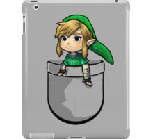 Pocket Link Hero of Time Zelda iPad Case/Skin