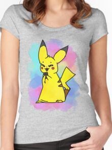 Choco-pika! Women's Fitted Scoop T-Shirt