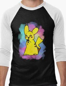 Choco-pika! Men's Baseball ¾ T-Shirt