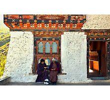 Temple, Thumphu, Bhutan Photographic Print