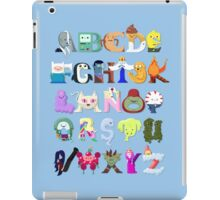Adventure Alphabet iPad Case/Skin