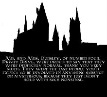 Hogwarts - At the Beginning  by queen-victoria