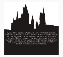 Hogwarts - At the Beginning  T-Shirt