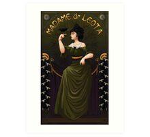 Haunted Mansion Madame Leota Art Print