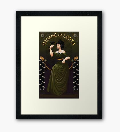 Haunted Mansion Madame Leota Framed Print