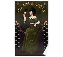 Haunted Mansion Madame Leota Poster