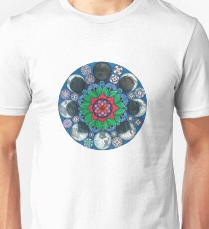 Moondala - Moon Mandala Unisex T-Shirt