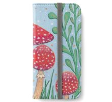 Uncommon Variety - Red Mushroom iPhone Wallet/Case/Skin