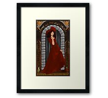 We wants the red head Framed Print