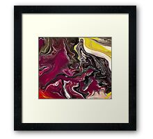 Liquid Acrylic 5 Framed Print