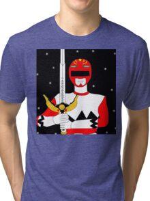 Power Rangers Lost Galaxy(Red Ranger) Tri-blend T-Shirt