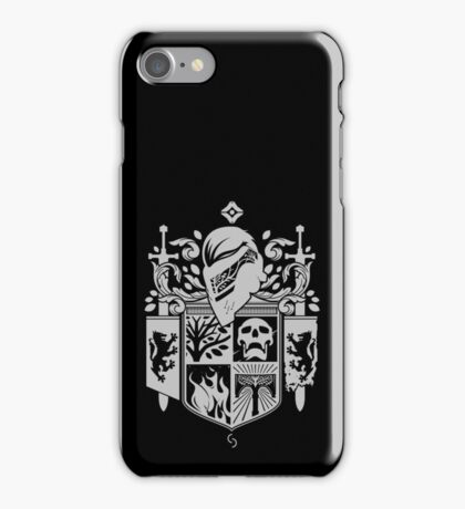 Iron Coat of Arms - DO Edition iPhone Case/Skin