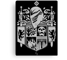 Iron Coat of Arms - DO Edition Canvas Print