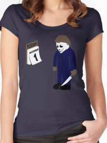 A Day Late Women's Fitted Scoop T-Shirt