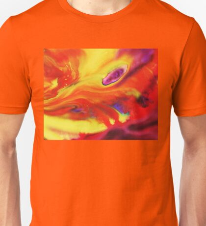 Vibrant Sensation Vivid Abstract IV Unisex T-Shirt