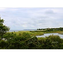 New England Seaside in September Photographic Print