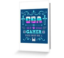 CGA Gamer Greeting Card