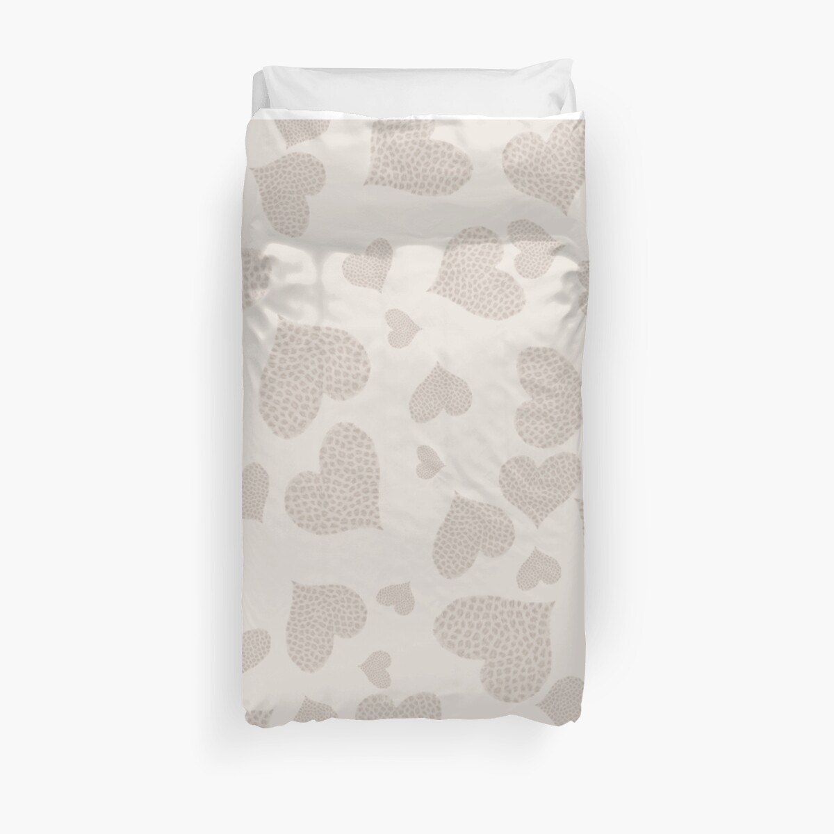 Heart Small Cheetah Print Girly Shirt, Print, Poster, iPhone Case, Samsung Case, iPad Case, Home Decor, Throw Pillows, Totes by Lallinda