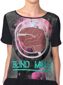 Blind Minds Galaxy  Chiffon Top