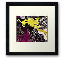 Liquid Acrylic 8 Framed Print