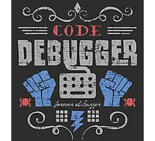 Code Debugger Photographic Print