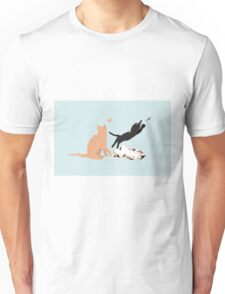 Playing cats Unisex T-Shirt