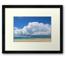 Eastern Storm Front Framed Print