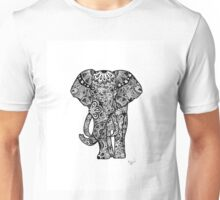 Tribal Elephant Unisex T-Shirt
