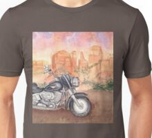 Motorcycle-scroll down to view more of my work Unisex T-Shirt