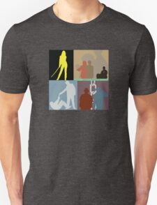 Quentin Tarantino Movie Collage Unisex T-Shirt