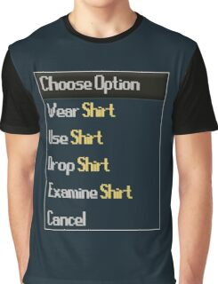 RuneScape-Choose Option Graphic T-Shirt