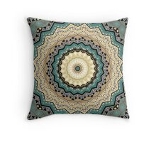 Kaleidoscope. Tribes of Indians.  Throw Pillow
