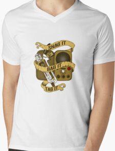 Snag It, Bag It, and Tag It! Mens V-Neck T-Shirt