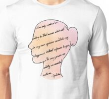 Or in other words: Screw You, Lady Catherine Unisex T-Shirt