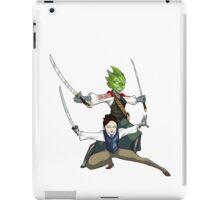 Vastra and Jenny - Demons Run iPad Case/Skin